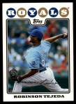 2008 Topps Updates #144  Robinson Tejeda  Front Thumbnail