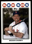 2008 Topps Updates #2  Sean Casey  Front Thumbnail