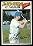 1977 Topps #584  Ed Goodson  Front Thumbnail