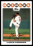 2008 Topps Updates #199  Lance Cormier  Front Thumbnail