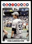 2008 Topps Updates #313   -  Tim Lincecum All-Star Front Thumbnail