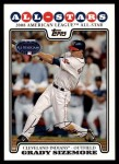 2008 Topps Updates #233   -  Grady Sizemore All-Star Front Thumbnail