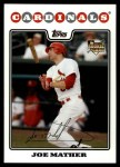2008 Topps Updates #243  Joe Mather  Front Thumbnail