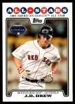 2008 Topps Updates #221   -  J.D. Drew All-Star Front Thumbnail