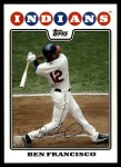 2008 Topps Updates #305  Ben Francisco  Front Thumbnail