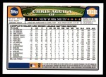 2008 Topps Updates #281  Chris Aguila  Back Thumbnail