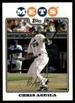 2008 Topps Updates #281  Chris Aguila  Front Thumbnail