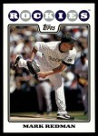 2008 Topps Updates #251  Mark Redman  Front Thumbnail