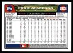 2008 Topps Updates #235  Eddie Guardado  Back Thumbnail