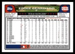 2008 Topps Updates #235  Eddie Guardado  Back Thumbnail
