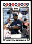 2008 Topps Updates #239   -  Milton Bradley All-Star Front Thumbnail