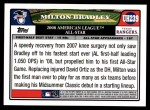 2008 Topps Updates #239   -  Milton Bradley All-Star Back Thumbnail