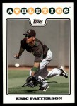 2008 Topps Updates #263  Eric Patterson  Front Thumbnail