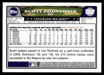2008 Topps Updates #247  Scott Podsednik  Back Thumbnail