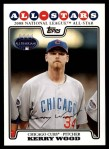 2008 Topps Updates #208   -  Kerry Wood All-Star Front Thumbnail