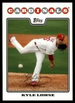2008 Topps Updates #310  Kyle Lohse  Front Thumbnail