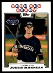 2008 Topps Updates #167  Justin Morneau  Front Thumbnail