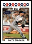 2008 Topps Updates #328   -  Billy Wagner All-Star Front Thumbnail
