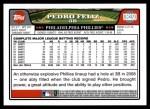 2008 Topps Updates #250  Pedro Feliz  Back Thumbnail