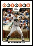2008 Topps Updates #283  Alex Cintron  Front Thumbnail