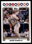 2008 Topps Updates #238   -  Dan Uggla All-Star Front Thumbnail