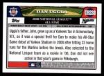 2008 Topps Updates #238   -  Dan Uggla All-Star Back Thumbnail