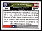 2008 Topps Updates #238   -  Dan Uggla All-Star Back Thumbnail