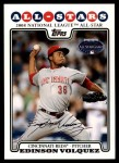 2008 Topps Updates #322   -  Edinson Volquez All-Star Front Thumbnail
