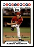 2008 Topps Updates #173   -  Randy Johnson  Highlights Front Thumbnail