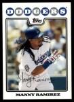 2008 Topps Updates #237  Manny Ramirez  Front Thumbnail