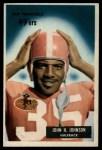 1955 Bowman #42  John Henry Johnson  Front Thumbnail