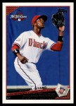 2009 Topps Update #38  Justin Upton  Front Thumbnail