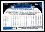 2009 Topps Update #145  Micah Hoffpauir  Back Thumbnail