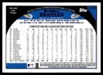 2009 Topps Update #62  Russell Branyan  Back Thumbnail