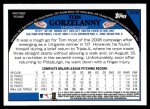 2009 Topps Update #35  Tom Gorzelanny  Back Thumbnail