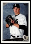 2009 Topps Update #87  Jake Peavy  Front Thumbnail