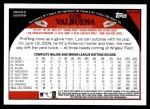 2009 Topps Update #105  Luis Valbuena  Back Thumbnail