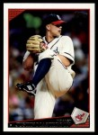 2009 Topps Update #110  Justin Masterson  Front Thumbnail