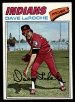1977 Topps #385  Dave LaRoche  Front Thumbnail