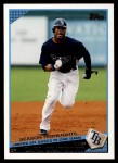 2009 Topps Update #179  Carl Crawford  Front Thumbnail