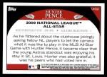 2009 Topps Update #321  Hunter Pence  Back Thumbnail