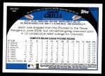 2009 Topps Update #214  Jason Grilli  Back Thumbnail