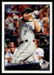 2009 Topps Update #293  Aaron Hill  Front Thumbnail
