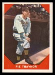 1960 Fleer #77  Pie Traynor  Front Thumbnail