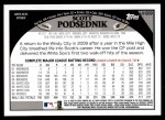 2009 Topps Update #309  Scott Podsednik  Back Thumbnail