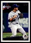 2009 Topps Update #298  Jason Bartlett  Front Thumbnail