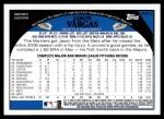 2009 Topps Update #210  Jason Vargas  Back Thumbnail