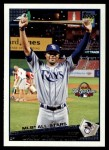 2009 Topps Update #318  Carl Crawford  Front Thumbnail