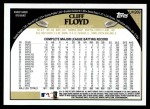 2009 Topps Update #269  Cliff Floyd  Back Thumbnail