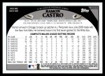 2009 Topps Update #319  Ramon Castro  Back Thumbnail